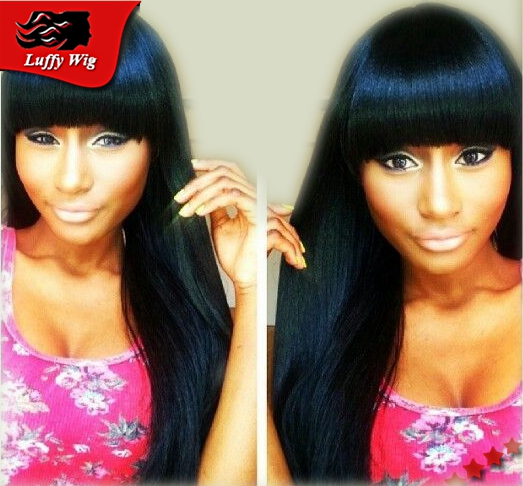 Brazilian Silky Straight Silk Top Full Lace Wig Glueless Unprocessed Human Hair Silk Top Lace Wigs For Black Women withBaby Hair<br><br>Aliexpress
