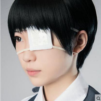 Halloween wig Tokyo Ghoul Kaneki Ken Anime white short Cosplay Wigs Hair Hallowmas - HangZhou BOBO Co., Ltd store