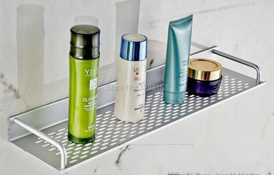 high quality Bathroom space aluminum mesh Shelf towel bath towel bar towel bar tray 40cm 50cm 60cm(China (Mainland))