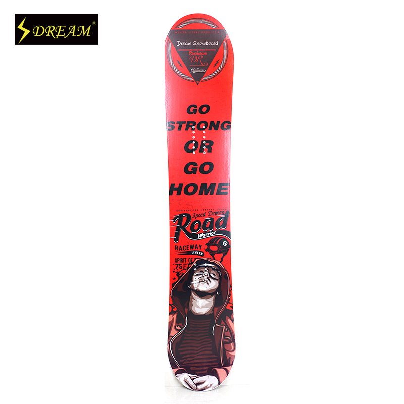 Universal All Mountain Customized Snowboards For Adult Male & Female Freestyle Carbon Fiber P-Tex Base Wooden Skiing Boards Fit(China (Mainland))