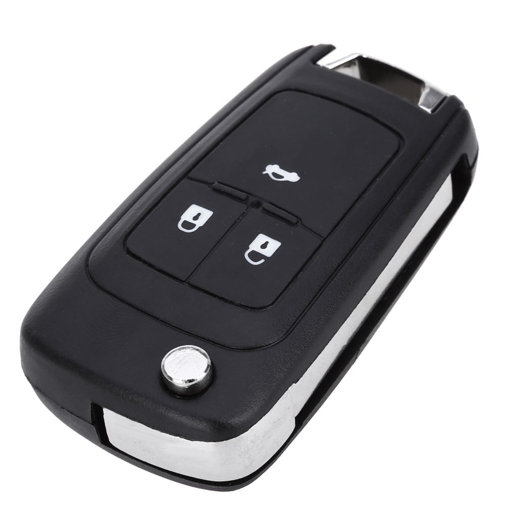 2016 New E48 Foldable Car Remote Key Holder Case Shell 3-button Protecting Cover Suitable for Opel with Rubber Texture Material(China (Mainland))