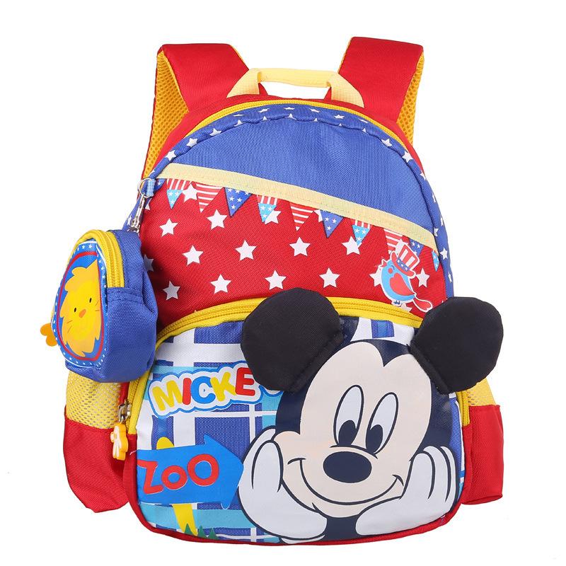 High Quality Cartoon Cute Mickey School Bags Children Backpacks Kindergarten Preschool Backpack Kids Satchel Mochila Infantil