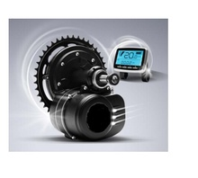 Free shipping 36V 350W 42T chainwheel TSDZ2 electric bicycle central mid motor with torque sensor(China (Mainland))