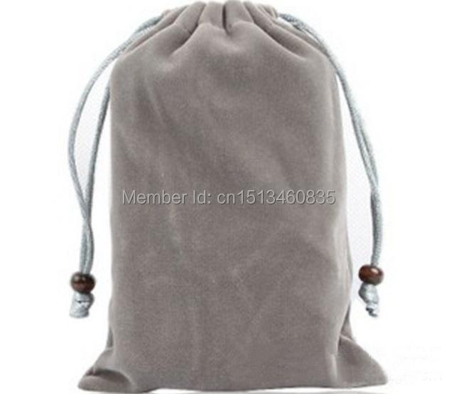 CBRL customize small velvet jewelry pouch velvet gift pouch velvet drawstring pouch bag with custom logo for vanilla(China (Mainland))