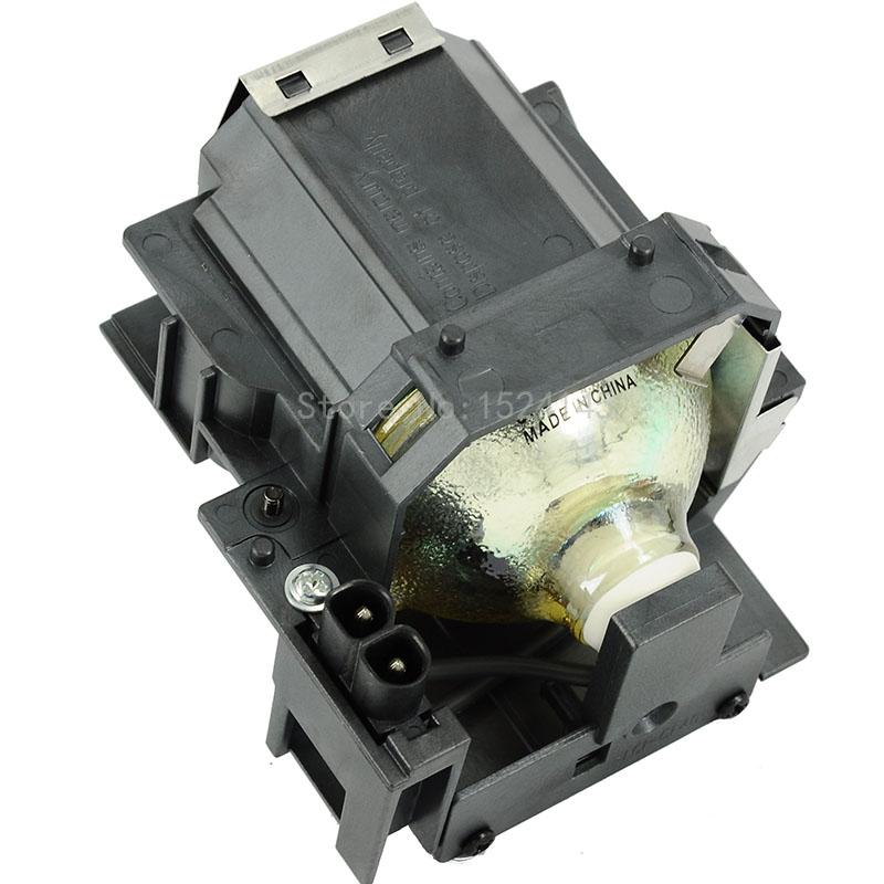 Фотография Projector Lamp Bulb With Housing ELPLP35 V13H010L35 FOR EPSON PowerLite Home Cinema 400 550 800 EMP-TW520 TW600 TW620 TW680