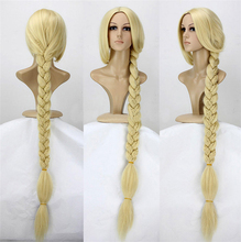 """New Arrival Tangled Princess 120cm 47"""" Straight Blonde Super Long Cosplay Wig Rapunzel Synthetic Hair Anime Wigs Free Shipping(China (Mainland))"""