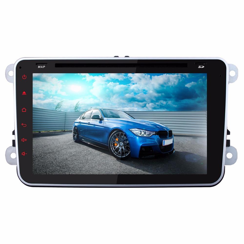 8 inch 1024*600 gps dvd 2 din tablet android 4.4 Flash 16G Quad Core for VW passat b6 Golf Skoda GPS WIFI 3G OBD DVR AUX USB(Hong Kong)