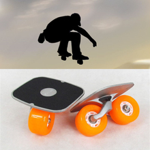 Portable Drift Board For Freeline Roller Road Driftboard Skates Anti-skid Skate board Skateboard Sports(China (Mainland))