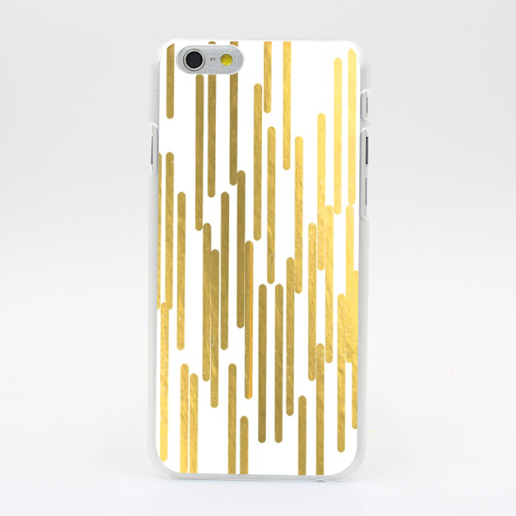2670U Gold Bars Trendy Hipster Gold Foil Hard Case Cover for iPhone 4 4s 5 5s SE 5C 6 6s Plus Skin Back(China (Mainland))