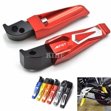 Buy CNC Motorcycle Pedals Rear Passenger Foot pegs Foot rests For yamaha MT-07 MT 07 mt-07 mt 07 for $24.06 in AliExpress store