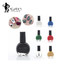 Beautome Hot Sale Fashion New 1pc 10ML Women Nail Polish Nail Stemping Polish Print Manicure Tool