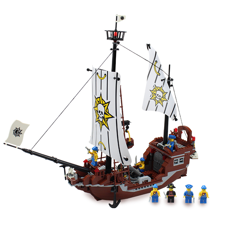 Toy Pirate Lego : Educational toys building blocks set compatible with lego
