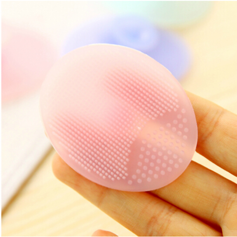 Cleaning Pad Wash Face Facial Exfoliating Brush SPA Skin Scrub Cleanser Tool(China (Mainland))