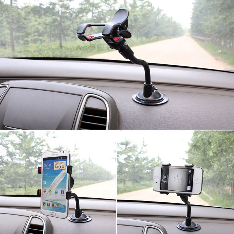 Hot Selling Car Phone holder Car window Windshield Mount Holder For iPhone 5 5S 5C 6 Plus GPS holder A1(China (Mainland))