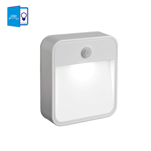 [DBF] 1LED 10lumens LED wireless nightlights with Motion sensor + light sensor (use 4pcs*AA battery ) in livingroom or anywhere<br><br>Aliexpress