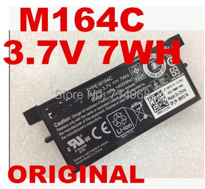 original battery 3.7V 7WH For DELL PowerEdge PERC5e M164C M9602 P9110 PERC5E PERC5i U8735 X8483(China (Mainland))