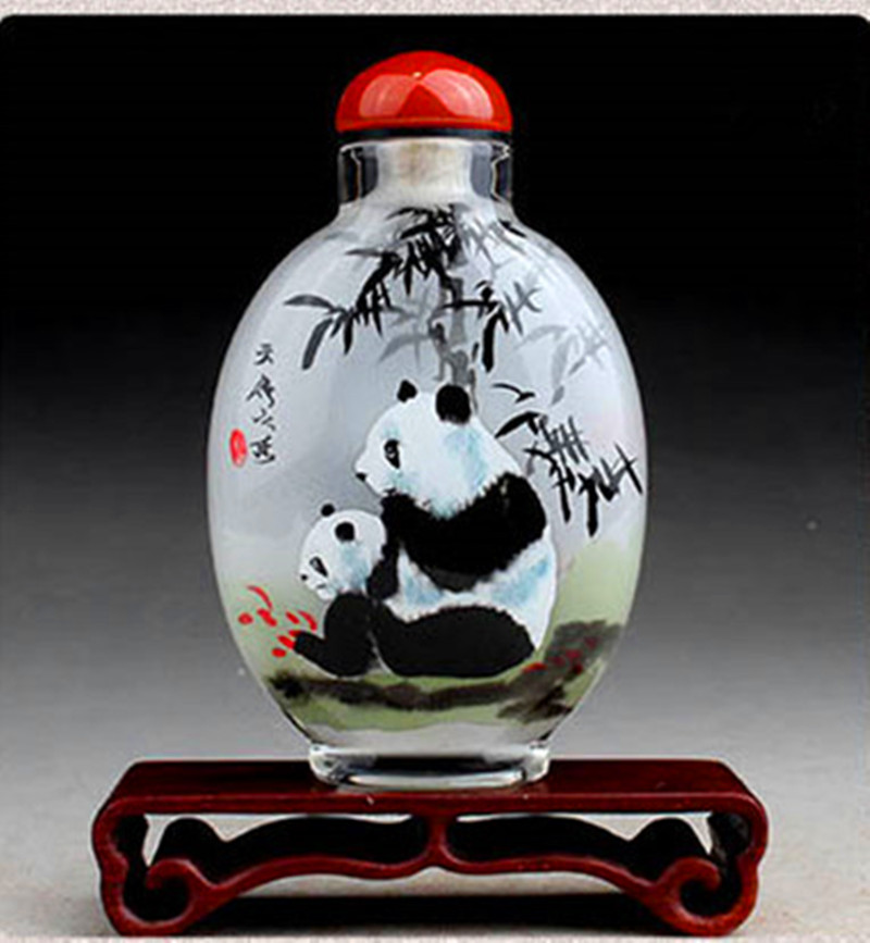Unique Decorative Crafts Crysstal perfume bottle Chinese Traddtional Inside painting Perfume bottle Special gfits for friends(China (Mainland))