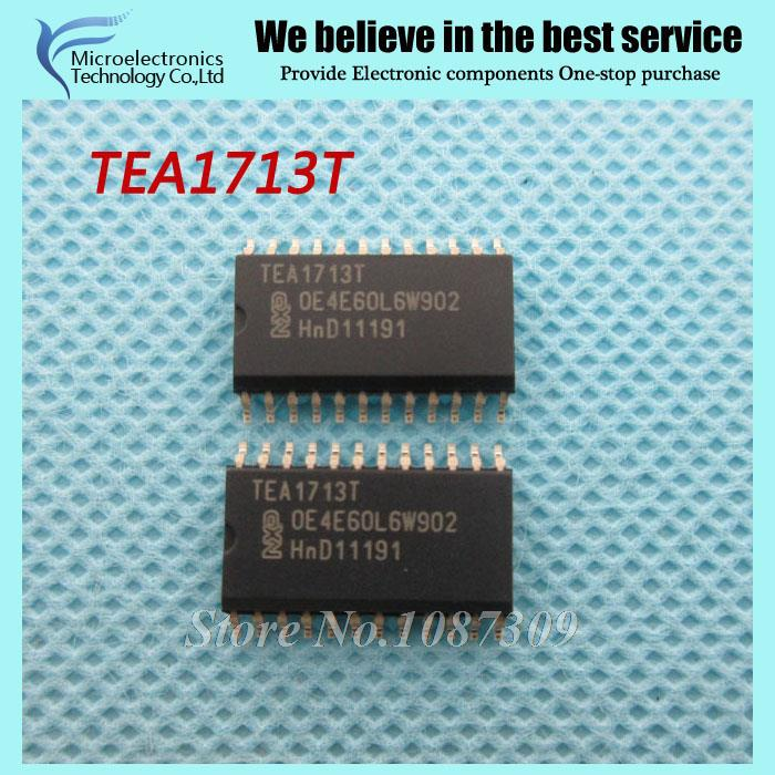 5pcs free shipping TEA1713T TEA1713 SOP-24 Factor Correction - PFC RESONANT PWR SUPPLY CONTROL IC WITH PFC new original(China (Mainland))