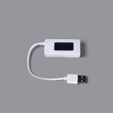 LCD USB Voltage Current LED Charger Tester Capacity Detector Power Supply Bank