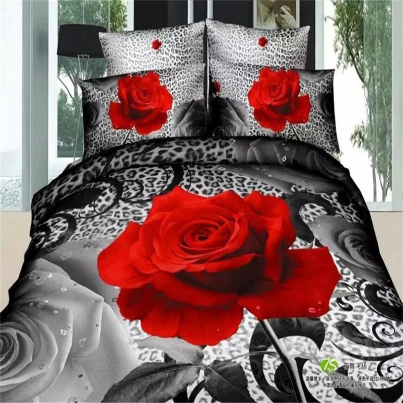 Цветы на кровати
