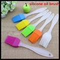 FaShion New 1Pcs Home Kitchen Cooking Tool Silicone Oil Brush BBQ Basting Brushes Free Shipping