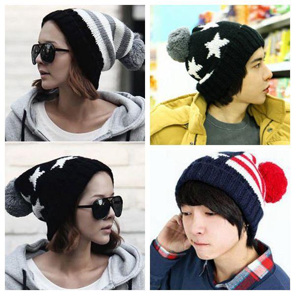 Hat Mens Winter Cap Female