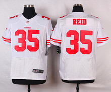 San Francisco 49ers #82 Torrey Smith Elite White Black and Red Team Color free shipping(China (Mainland))