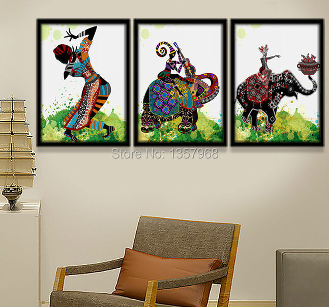 Online Buy Wholesale ethnic oil paintings from China ethnic oil ...