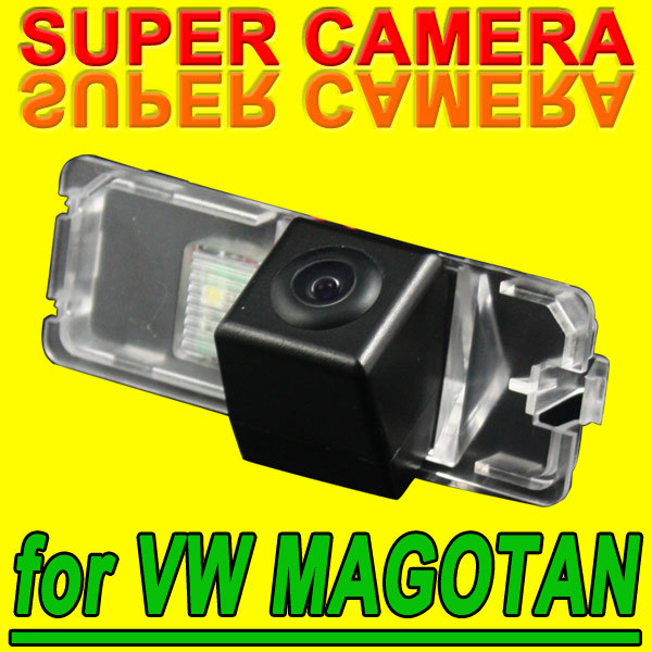 Reverse car rearview back up parking camera for Volkswagen VW Polo Magotan waterproof high-solution PAL( Optional) for GPS Radio(China (Mainland))