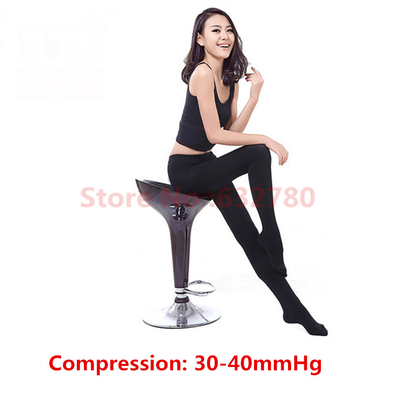 Unisex medical massage pantyhose elastic compression Tights stockings 30-40 classs pressure for Varicose Veins Treatment Varices<br><br>Aliexpress
