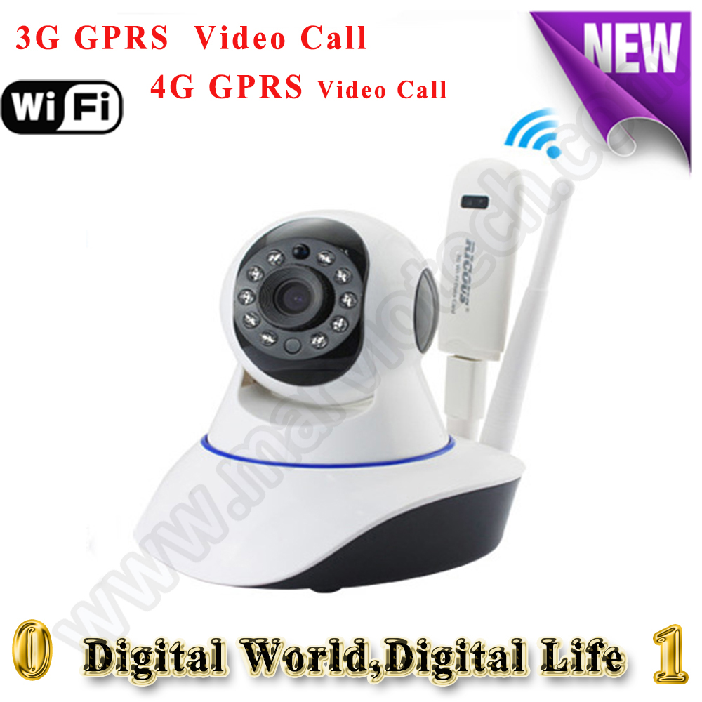 New 3G/4G All Mode available IP camera sim card WiFi CCTV camera gsm h.264 onvif Night vision Webcam Mobile View security camera(China (Mainland))