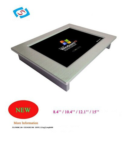2015 Hot sale 8.4 Inch LCD Fanless Industrial Panel Pc PPC-084P(China (Mainland))