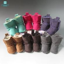 1 par 7 cm mini botas de nieve de Alta Muñeca muñecas Tilda muñeca 1/4 BJD Accesorios para el Salón(China (Mainland))