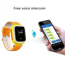 SW50 GPS WIFI Smart Intelligent Kids Watch Tracking Device for Children Baby