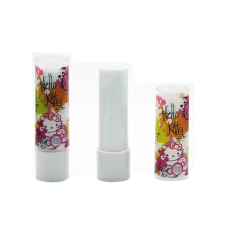 100pcs/lot New arrival 5g empty lip balm tubes diy lipstick tube .Hello kitty Mini small sample cosmetic packing(China (Mainland))