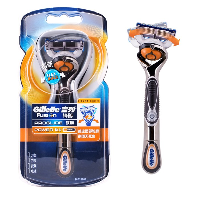 Гаджет  2015 New Genuine Gillette  Fusion Proglide Flexball  Power Razor Brand  Men Electric Shaving Razor None Красота и здоровье
