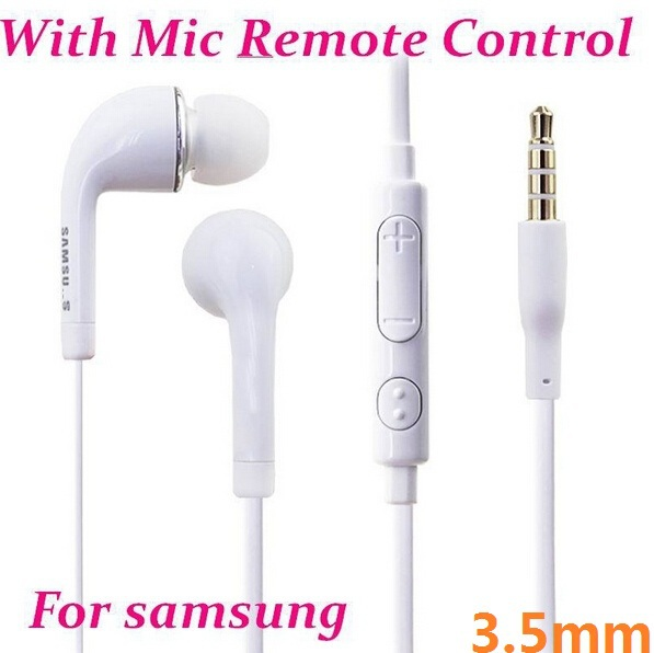 500pcs* Hot Headphone Handsfree with Mic Earphone For SAMSUNG GALAXY S6 S5 S4 Note3 for Iphone 6 5 4 headphone(China (Mainland))