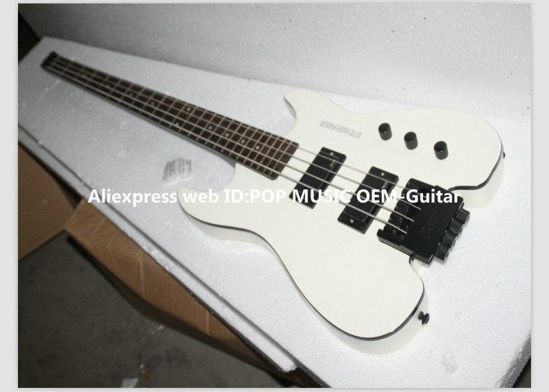 Wholesale Bass Guitars 4 strings no head Electric Bass headless Free Shipping(China (Mainland))