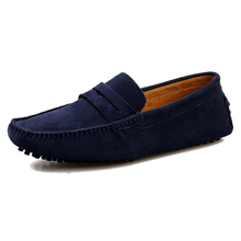 Neue 2015 Männer Lässige Suede Loafers, Frühling schwarz Leder Driving Mokassins gommino, Slip auf Männer Samt Müßiggänger Schuhe Q147(China (Mainland))