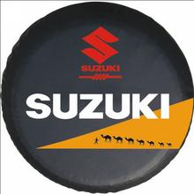 size L black 15  Inch New Universal Spare Tire Type Cover Wheel Covers for SUZUKI Vitara Samurai 1990-2011(China (Mainland))
