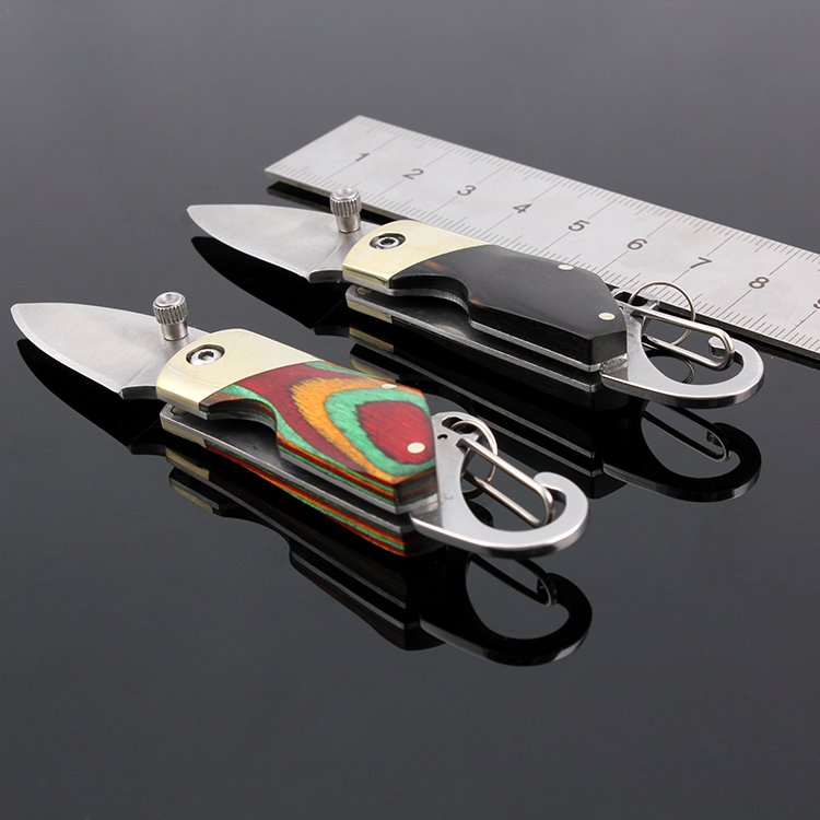 Mini Rat Folding Knife Stainless Steel Key Knife Small Pocket Knife Best Gift For Outdoor Survival Accessories(China (Mainland))