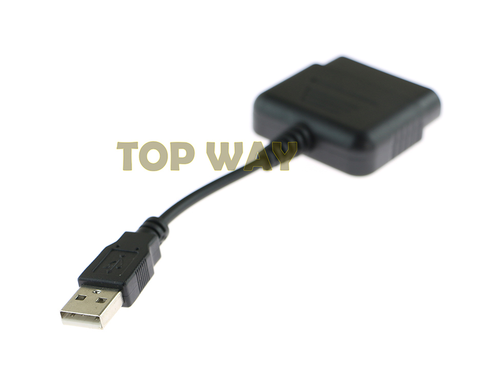 Cable Converter For PS2 Controller to PS3 PC USB Adapter Converter Cable 3pcs/lot(China (Mainland))