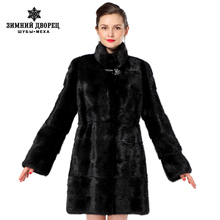 2016 Women fur coats,Genuine Leather,Three colors styles mink coat ,Fashion Slim Winter coats of fur,sell well natural fur(China (Mainland))