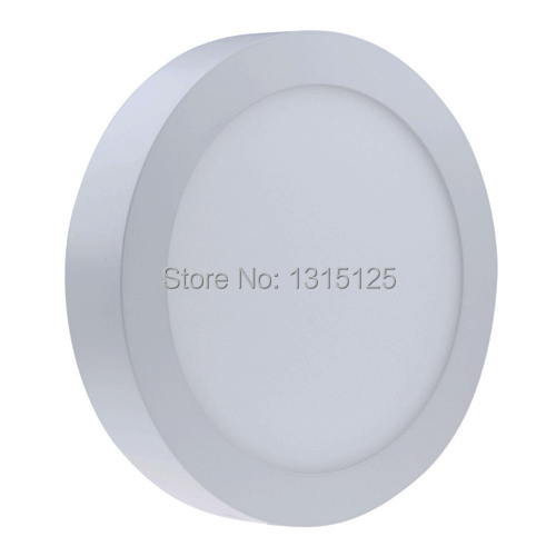 Non-dimmable 6W 12W 18W 24W Super Bright Round Surface LED Panel Wall Ceiling Down Light Mount Bulb Lamp for bathroom illuminate(China (Mainland))