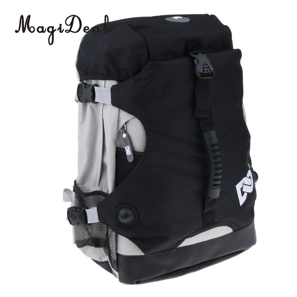 Large Backpack for Roller Skates Inline Speed Skates Storage Bag Outdoor Skating Shoes Boots Holder