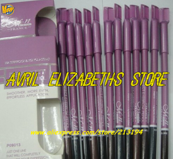 50SET/LOT M.N PERFECT 12 COLOR WATERPROOF EYEBROW PENCIL SET HOT SELLING - Avril Elizabeth's Store store