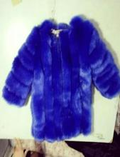 Plus Size Women Long Faux Fox Strips Shaggy Jacket Elegance Warm Thick Fake Pelt Hairy Fabric O Neck Coat Real Photo(China (Mainland))