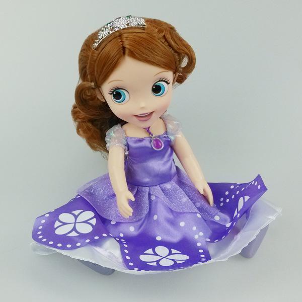 12-дюймовый принцесса аниматоры коллекции замороженных снег белый Тинкер Белл Арэль Рапунцель принцесса кукла замороженные аниматоры
