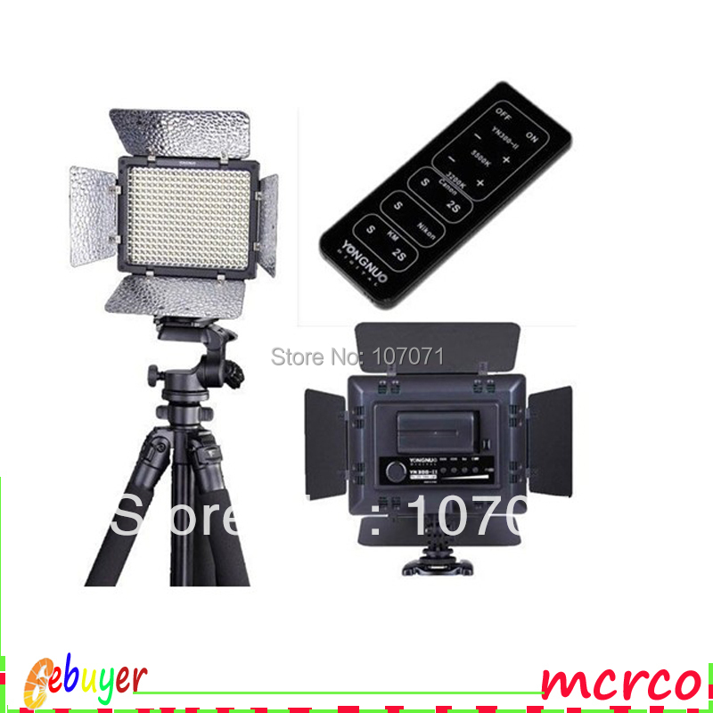 YN-300II Pro LED Video Camera Light Color Temperature Adjustable Dimming(China (Mainland))