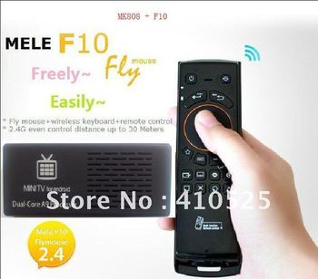 Dual core RK3066 Android 4.1.1  1 GB RAM 8 GB ROM WIFI MK808 android tv box + F10 AIR MOUSE Sold by Diamond Crown